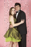Young Couple Dressed For Party Stock Images