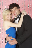 Young Couple Dressed For Party Royalty Free Stock Images