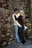 Young couple embracing Royalty Free Stock Images