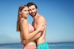 Young couple embracing each other Stock Photo