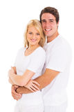 Young couple embracing Royalty Free Stock Photography