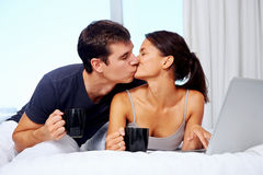 Relaxing couple Stock Photo