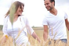 Young couple enjoying Royalty Free Stock Photography