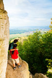Young Couple Enjoying The View Royalty Free Stock Photos