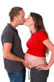 Young couple expecting a baby Royalty Free Stock Photo