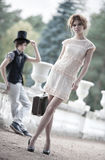 Young couple fashion Royalty Free Stock Photography