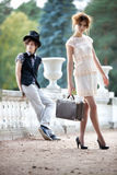 Young couple fashion Royalty Free Stock Photos