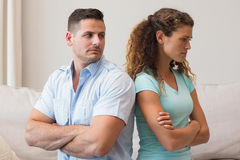 Young couple fighting Royalty Free Stock Image