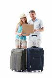A young couple goes on vacation Stock Photos
