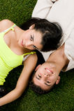 Young couple have fun Stock Photography