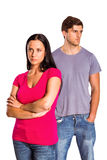 Young couple having an argument Stock Photo