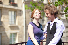 Young couple having fun Stock Photography