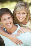 Young Couple Having Fun In Countryside Together Royalty Free Stock Images