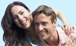 Young Couple Having Fun Outside Stock Image