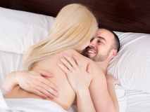 Young couple having sex Royalty Free Stock Photo