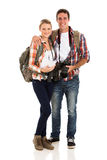 Young couple hiking Royalty Free Stock Photos