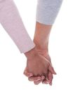 Young Couple Holding Hands Stock Images