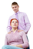 Young couple. Royalty Free Stock Photography