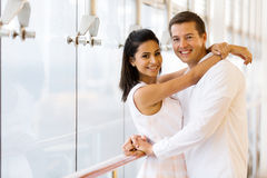 Young couple hugging Royalty Free Stock Images