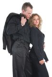 Young Couple In Black Stock Images