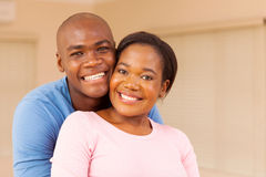Young couple indoors Stock Photo