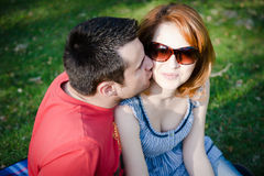 Young couple inlove Stock Image
