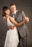 Young couple just married Royalty Free Stock Photos