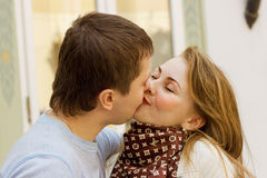 A young couple Stock Photos