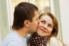 A young couple Royalty Free Stock Photo