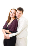 Young couple laughing Royalty Free Stock Images