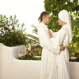 Young couple in love. Picture of a Young couple in love Royalty Free Stock Photography
