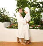 Young couple in love. Picture of a Young couple in love Stock Images