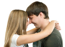 Young couple in love. Stock Photography