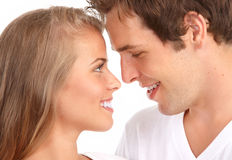 Young couple in love Royalty Free Stock Photo