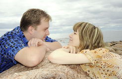 Young couple love Royalty Free Stock Image