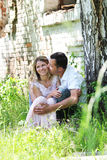A young couple in love Royalty Free Stock Images