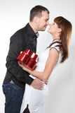 Young Couple in love Stock Image