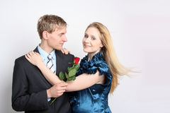 Young couple in Love Stock Photos