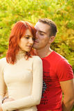 Young couple in love. Picture of a Young couple in love Royalty Free Stock Photos