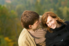 Young couple in love. People of Young couple in love Royalty Free Stock Photos