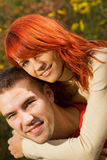 Young couple in love. Picture of a Young couple in love Royalty Free Stock Image