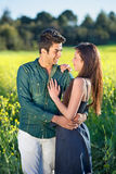 Young couple in love. Royalty Free Stock Photos