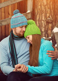 Young couple in love Royalty Free Stock Photos