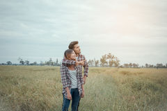 Young couple . stock image