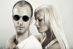 Girls Love Bad Boys Royalty Free Stock Photos