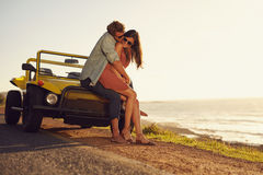 Young couple in love sharing a special moment Royalty Free Stock Images