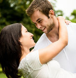 Young couple in love together Royalty Free Stock Photos