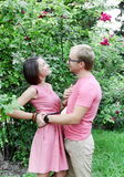 Young Couple Lovers Embracing Royalty Free Stock Photo