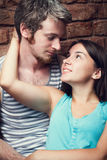 Young couple of lovers Royalty Free Stock Photos