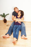 Young couple loving each other Stock Images